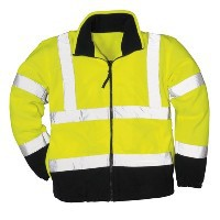 F301 Hi Vis Two Tone Fleece