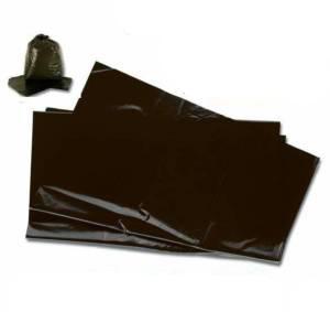 Black Refuse Sacks 18x29x38 case of 200