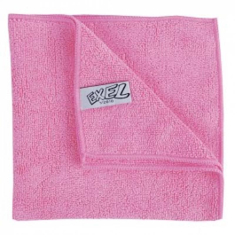Microfiber Cloth Manufacturers Uk: Exel Microfibre Cloth Pack Of 10