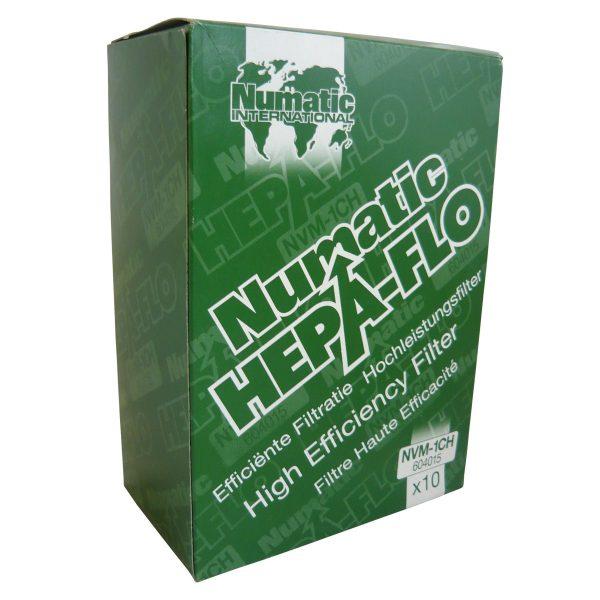 Henry/Numatic Hepaflo Dust Bags NVM- 1CH - Pack of 10