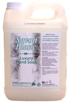 Savon Blanc Soap x 5 ltr