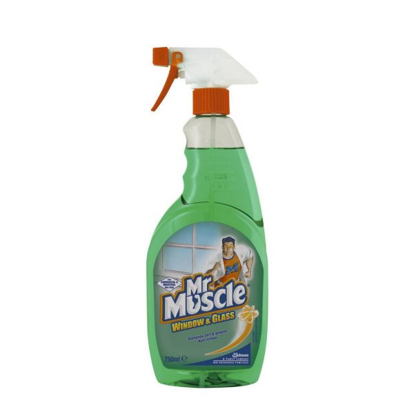 Mr Muscle window and glass cleaner 6 x 750ml