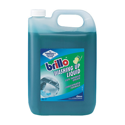 Brillo Washing Up Liquid  5LTR