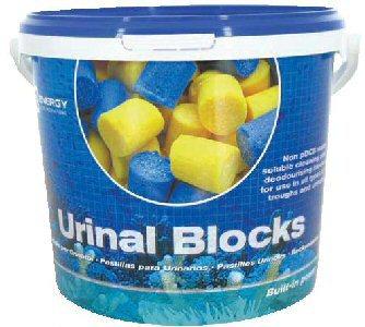 Urinal Channel Blocks