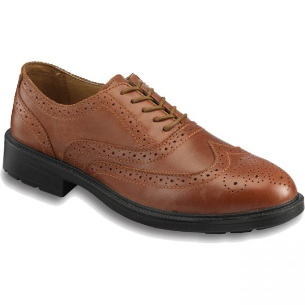 S76SM Brown Leather Brogue