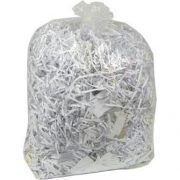 Clear Compactor sacks 180g 20x38x45 (100)