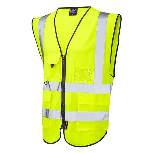 Hi Vis Superior Lynton Waistcoat Yellow