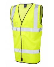 Hi Vis Waistcoat Airport Style Velator Yellow