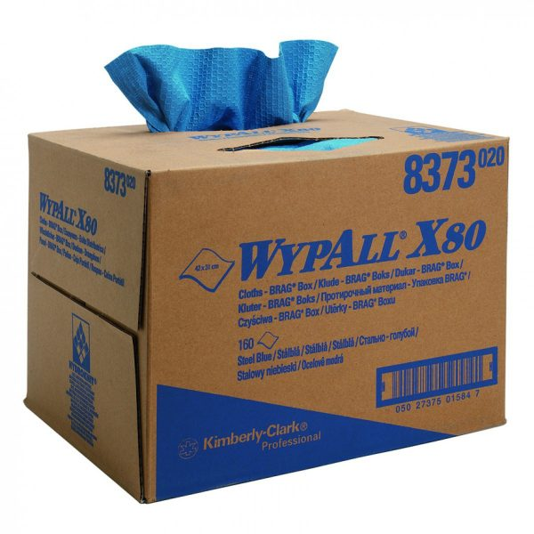 Kimberly Clark 8373 Wypall x80 Cloths Brag Cloth