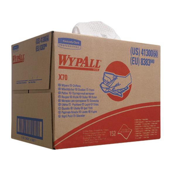Kimberly Clark 8383 Whypall x 70 Cloth Brag Box