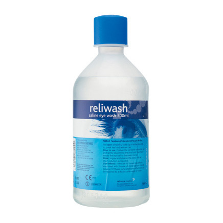 Reliwash Saline Eye Wash Solution