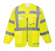 S475 Hi- Vis Executive Jacket