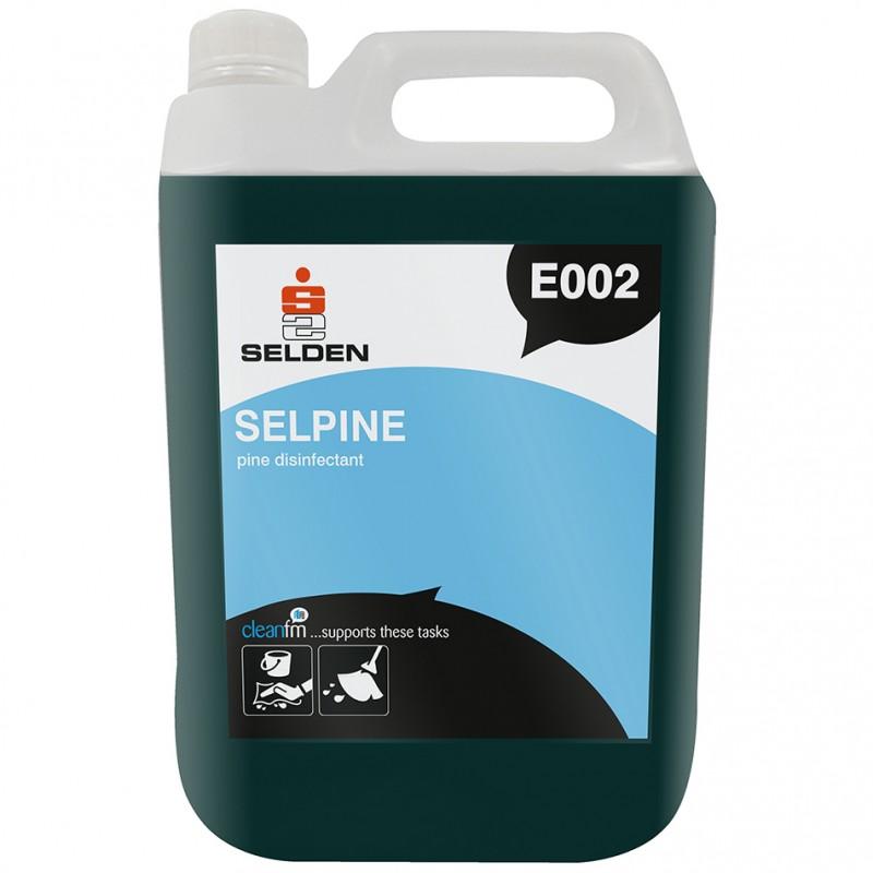 Selden Selpine Disinfectant 5ltr Jp Supplies
